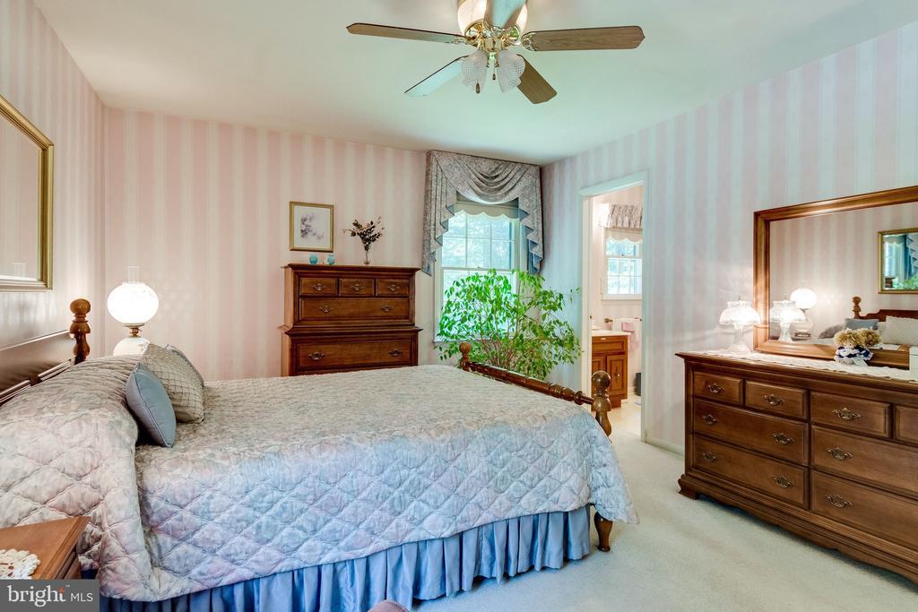 Master bedroom with ensuite full bath - 6906 TOKEN VALLEY RD, MANASSAS
