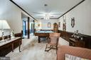 Lots of versatile living space in basement - 6906 TOKEN VALLEY RD, MANASSAS