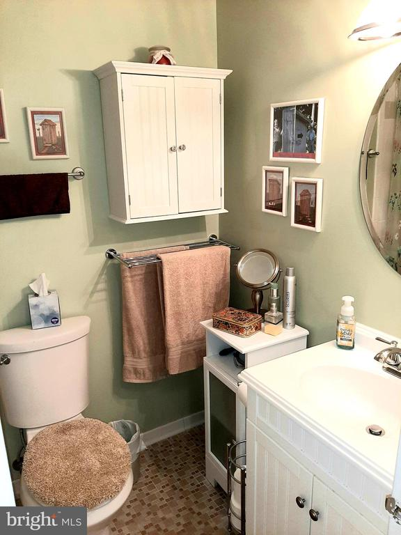 Full Bath with Upgraded Sink - 441 GREENBRIER CT #441, FREDERICKSBURG