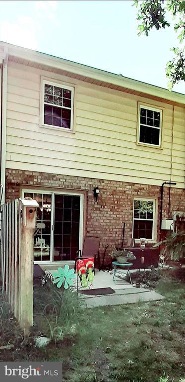 Rear Windows and Door Upgraded - 441 GREENBRIER CT #441, FREDERICKSBURG