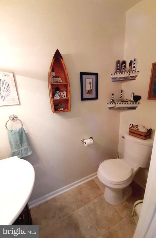 Half Bath with Tiled Floor - 441 GREENBRIER CT #441, FREDERICKSBURG
