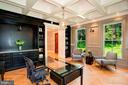 Office/ Formal Living Room - 7024 ARBOR LN, MCLEAN