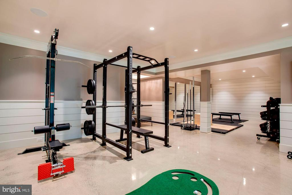 Recreation Room/ Fitness Room - 7024 ARBOR LN, MCLEAN