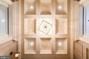Foyer Coffered Ceiling - 7024 ARBOR LN, MCLEAN