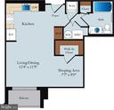 Floor Plan - 1020 N HIGHLAND ST #320, ARLINGTON