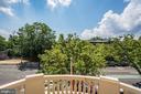 Third Floor Balcony w views toward Rock Creek Park - 2301 CALVERT ST NW, WASHINGTON
