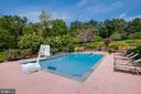 Beautiful pool with gorgeous views - 17765 BRAEMAR, LEESBURG