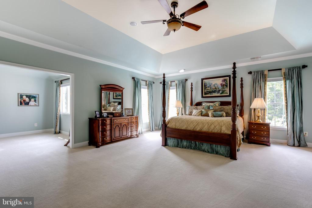 Master bedroom with sitting area - 17765 BRAEMAR, LEESBURG