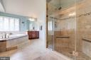 Updated master bathroom - 17765 BRAEMAR, LEESBURG