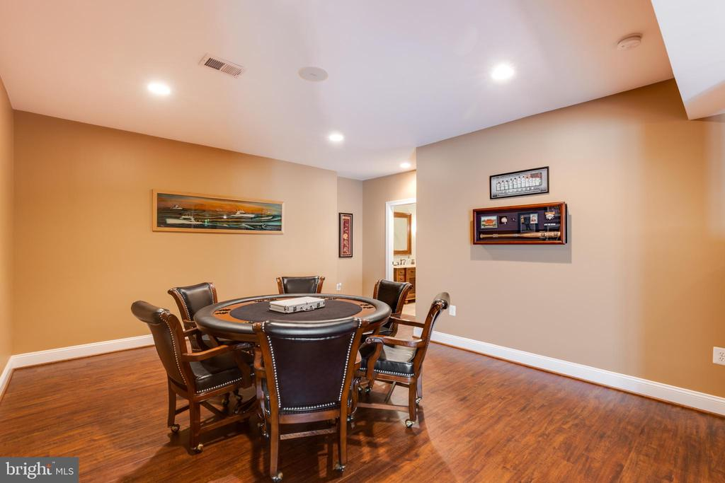 Lower level recreation room-alt view - 17765 BRAEMAR, LEESBURG