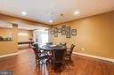 Lower level recreation/card room - 17765 BRAEMAR, LEESBURG