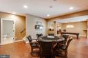 Lower level recreation room - 17765 BRAEMAR, LEESBURG