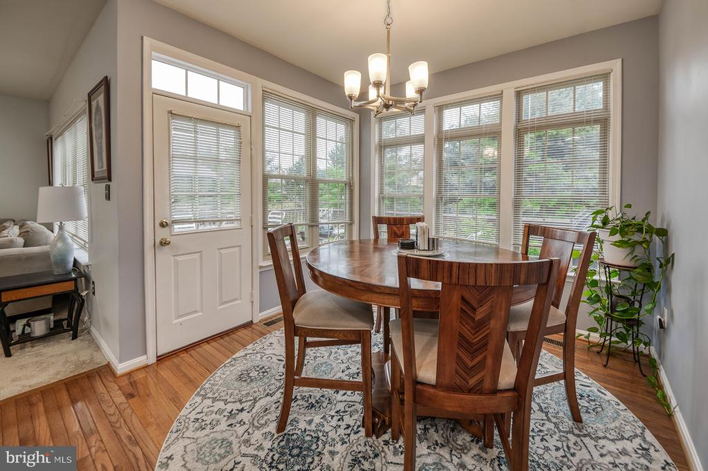 Eat In Kitchen with Deck Access - 2406 RIPPLING BROOK RD, FREDERICK