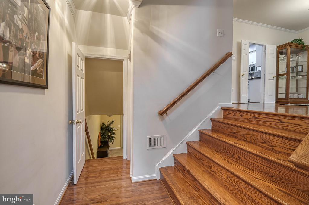 Foyer to Main Level - 2406 RIPPLING BROOK RD, FREDERICK
