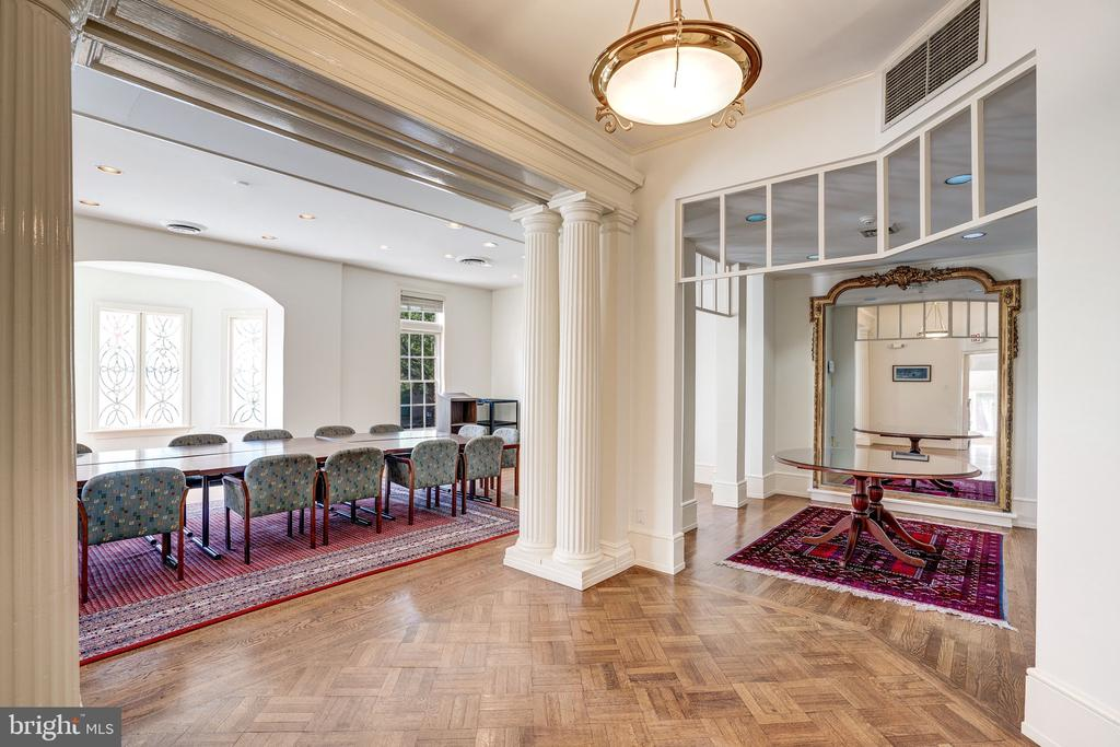 Grand Conference Room with Reception - 2301 CALVERT ST NW, WASHINGTON