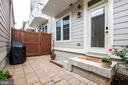 Private Courtyard for grilling - 3504 11TH ST S, ARLINGTON