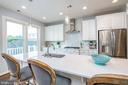 Bright white gourmet kitchen - 3504 11TH ST S, ARLINGTON