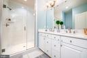 Owner's suite w/ dual showerheads & double vanity - 3504 11TH ST S, ARLINGTON