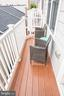 Small balcony off kitchen on 2nd floor - 3504 11TH ST S, ARLINGTON