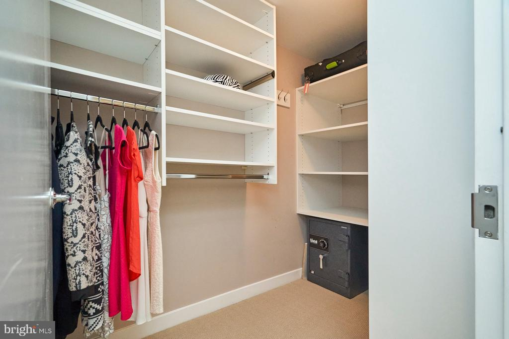 Walk-In closet for Second Bedroom - 12025 NEW DOMINION PKWY #G-118, RESTON