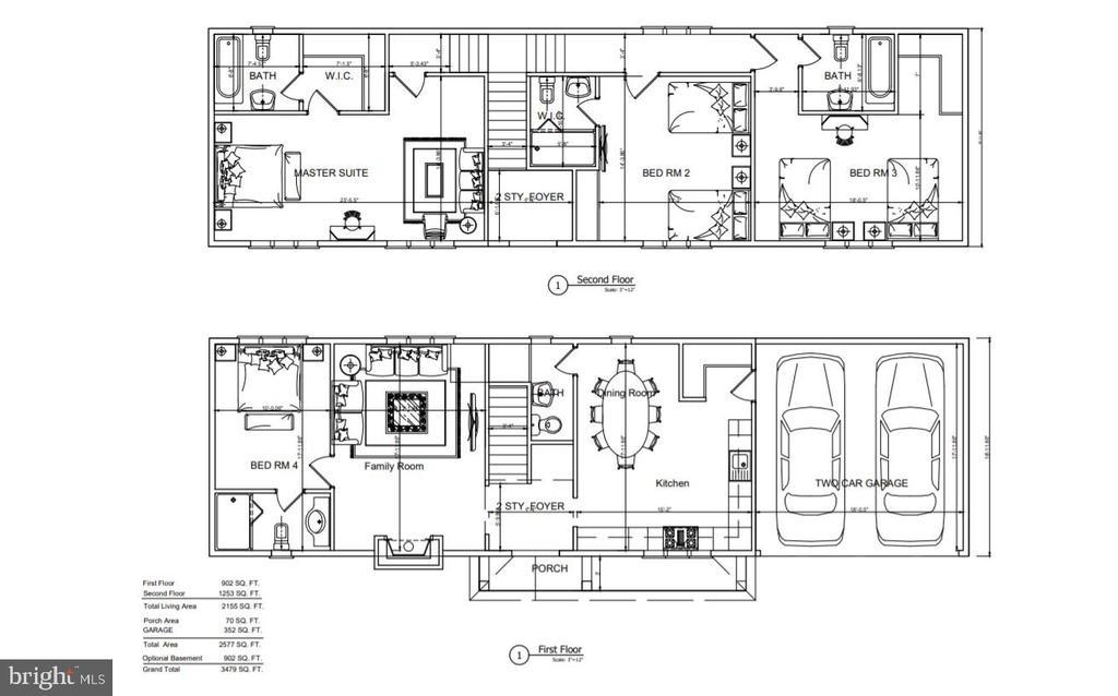 Floor Plan - LOT# 3 FEYES CIR, STERLING