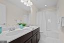 Upper Level Hall Bathroom - 43264 HEAVENLY CIR, LEESBURG