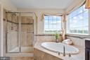 Separate Shower - 43264 HEAVENLY CIR, LEESBURG