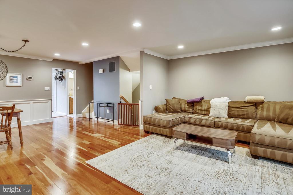 Open Living /Dining Room - 1176 N UTAH ST, ARLINGTON