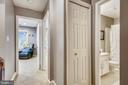 Hall view  to full bathroom & bedroom #3 - 1176 N UTAH ST, ARLINGTON