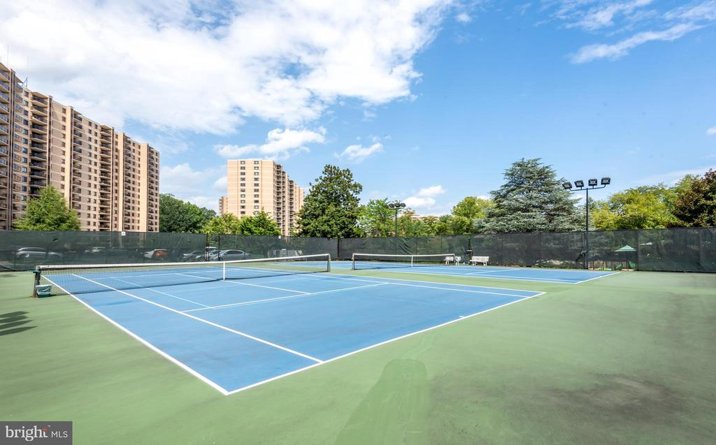 Outdoor tennis - 205 YOAKUM PKWY #1818, ALEXANDRIA
