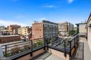 Private Balcony w/ Table Space - 1931 12TH ST NW #A, WASHINGTON