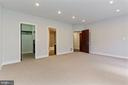 Master Bedroom w/ Private Terrace - 1931 12TH ST NW #A, WASHINGTON
