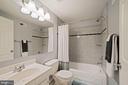 Full Bathroom #3 - Located on Basement Level - 8486 SPRINGFIELD OAKS DR, SPRINGFIELD