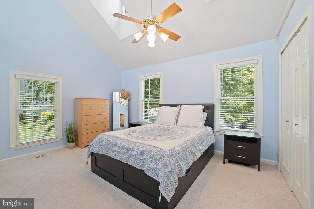 Master Bedroom - So Many Windows - Loads of Light! - 8486 SPRINGFIELD OAKS DR, SPRINGFIELD