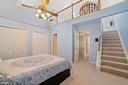 Stairs from Master Bedroom up to Bonus Loft! - 8486 SPRINGFIELD OAKS DR, SPRINGFIELD