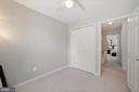 Bedroom #3 - Ceiling Fan & Overhead Lighting - 8486 SPRINGFIELD OAKS DR, SPRINGFIELD