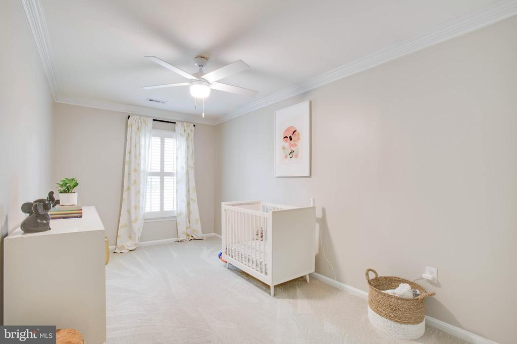Bedroom 3 -luxurious carpet installed 2019 - 1 NEW BEDFORD CT, STAFFORD