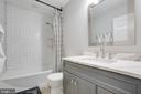 Full bath on upper level has been renovated - 1 NEW BEDFORD CT, STAFFORD