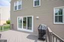 Freshly painted deck - 1 NEW BEDFORD CT, STAFFORD