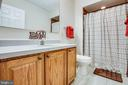 Second Master Bathroom with Shower - 1546 W OLD MOUNTAIN RD, LOUISA