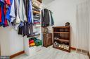 Master Bedroom Walk-in Closet - 1546 W OLD MOUNTAIN RD, LOUISA