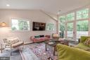 Spacious living room - 3629 ALBEMARLE ST NW, WASHINGTON