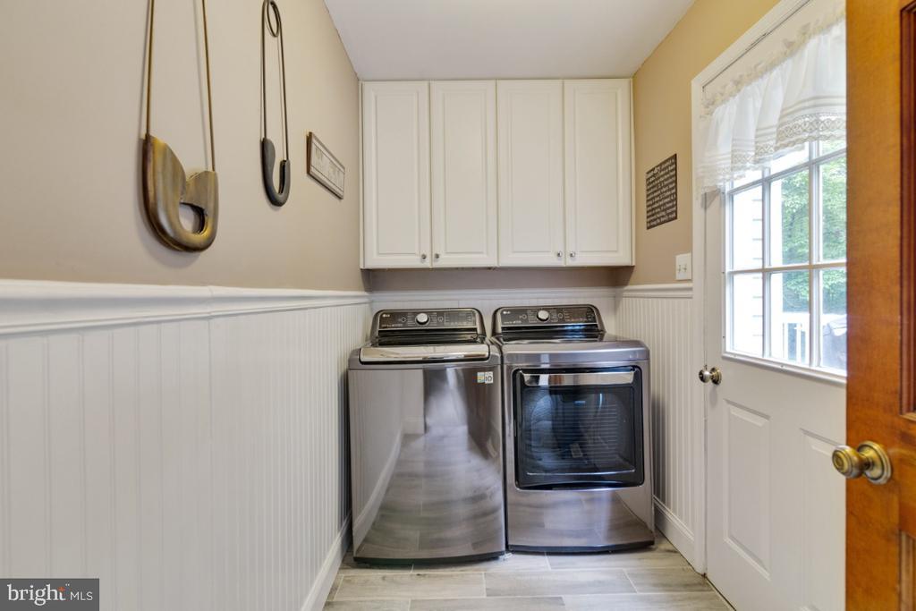 Laundry room updated in 2018 - 13613 BETHEL RD, MANASSAS
