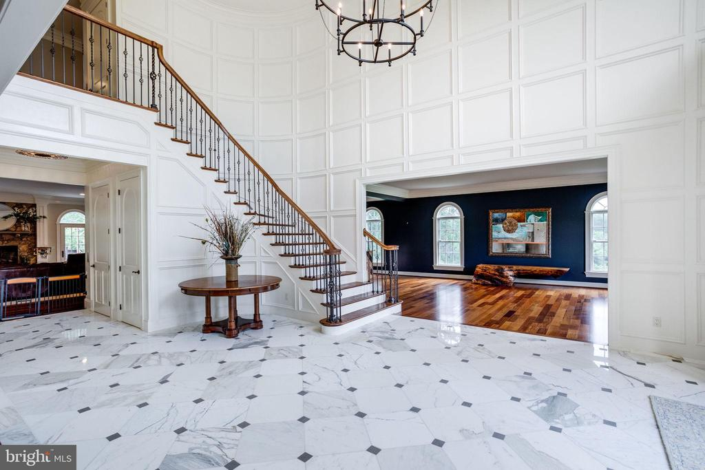 View from Grand Foyer looking into the Great Room - 17814 RUNNING COLT PL, LEESBURG
