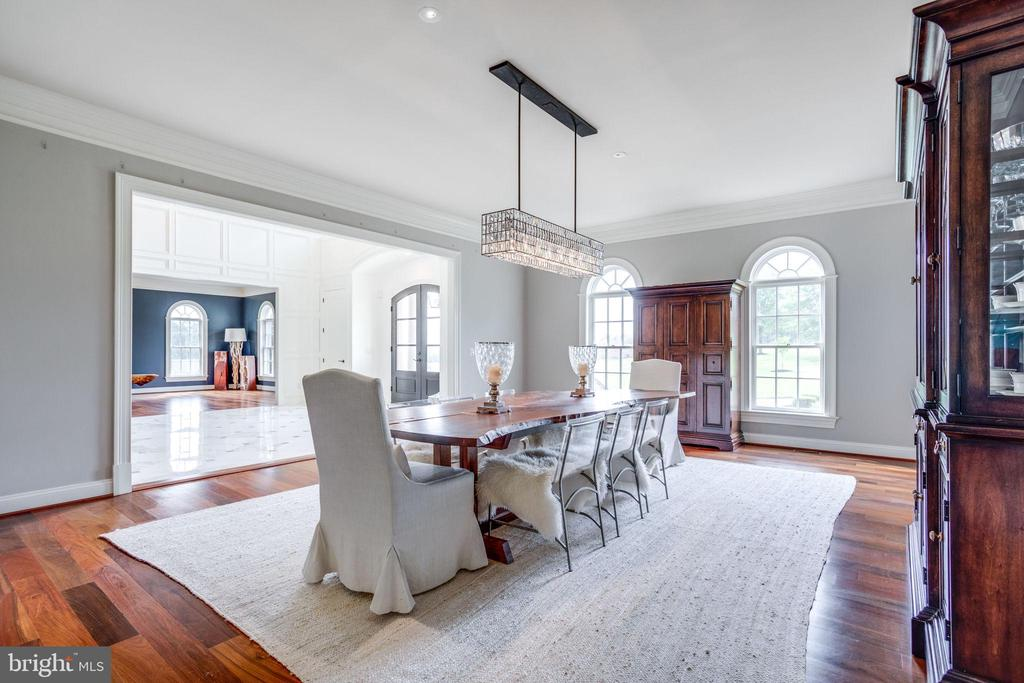 Formal Dining Room off Foyer and Butlers Pantry - 17814 RUNNING COLT PL, LEESBURG