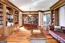 Office & Library with Walk-Out French Doors - 17814 RUNNING COLT PL, LEESBURG