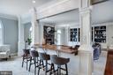Breakfast Bar in Kitchen - 17814 RUNNING COLT PL, LEESBURG