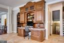 Family organization area Built-In in Kitchen - 17814 RUNNING COLT PL, LEESBURG