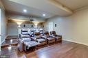 Movie Theater off of Entertaining Space - 17814 RUNNING COLT PL, LEESBURG