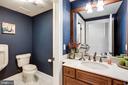 Half Bathroom in Basement with Custom Urinal - 17814 RUNNING COLT PL, LEESBURG